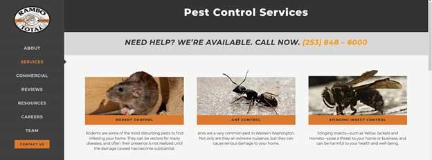 Pest Control Services Page