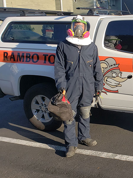Pest Technician Safety Gear